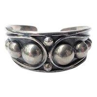Taxco Mexico Vintage Silver Bracelet