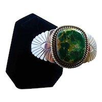 Navajo Royston Turquoise Bracelet