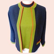 Vintage Wool Twinset 1950s