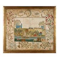 Silk-on-Silk Pictorial Needlework