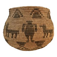 Native American Olla Form Basket