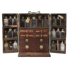 Mahogany Ship's Doctoring Box