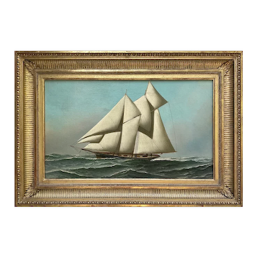 American School 'Portrait of a Yacht'