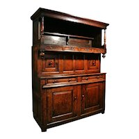 Tridarn Cupboard of Superb Color - Initialed and Dated 1734