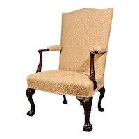 Finest George II Mahogany Gentleman's Chair