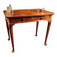 Fine George II Mahogany Silver Table  c.1750