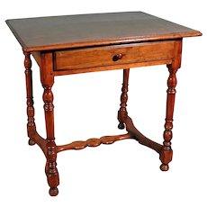 17th Century Walnut Center Table