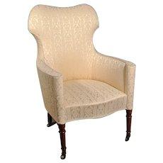 Original English Regency Barrel Back Chair c. 1820