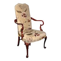 Very Good 19th Century Armchair of William and Mary Design