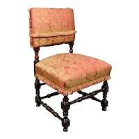 Rare William and Mary Yew Wood Chair c. 1690