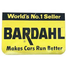 Gas Oil Racing Advertising Tin