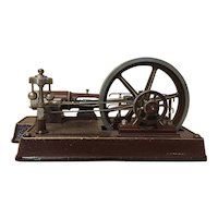 Industrial Machine Age Mechanical Steam Model