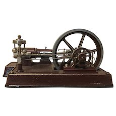 Industrial Machine Age Mechanical Steam Model
