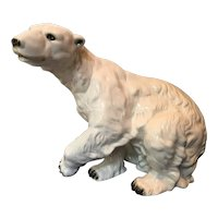 Polar Bear porcelain Royal Dux