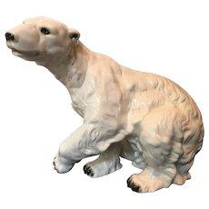 Polar Bear porcelain Royal Dux