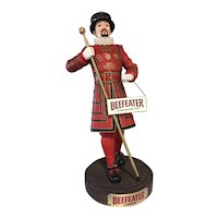 Advertising BEEFEATER London Store Display