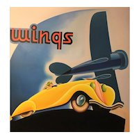 Car Airplane Deco Painting