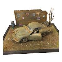 356 Porsche Car Diorama Display