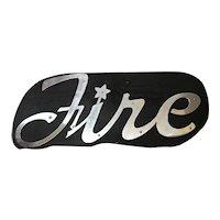 "Automotive Dealer Advertising Sign Oldsmoblie  ""STARFIRE"""