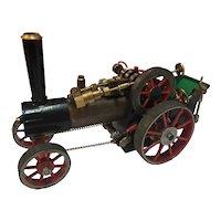 Live Steam Tractor Model