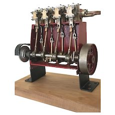 Rare TITANIC  Steam Engine Model