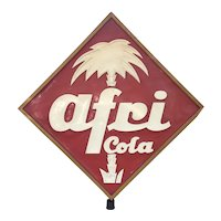 Historical AFRI COLA Advertising Store Display 1940's