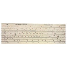 BIG 8 foot Store Slide Rule Company Advertising piece