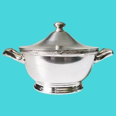 1933 Silver Plated Sugar Bowl from The Pullman Company