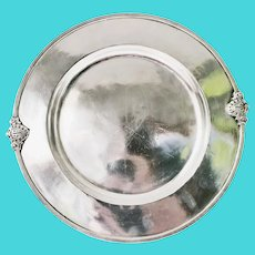 Antique Silver Plated Tray from The Savoy Plaza Hotel NYC