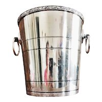 Antique Silver Plated Chicago Railroad & Athletic Association Champagne Bucket
