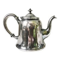 1907 Silver Plated Teapot from the St. Louis–San Francisco Railway