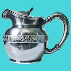 Antique Silver Plated Hotel Savoy Teapot