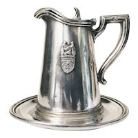 Vintage Silver Plate Syrup Pitcher from The Pickwick Arms Hotel