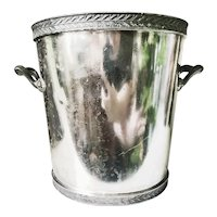 1948 Silver Plated Champagne Bucket from Palmer House Hotel in Chicago