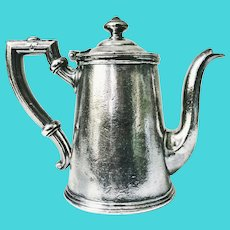 Vintage Silver Plated Teapot from St George Hotel in Brooklyn