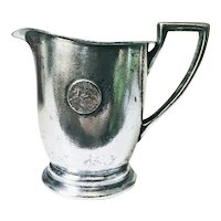 Vintage Silver Plated Creamer from St George Hotel in Brooklyn