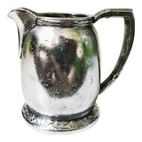 Vintage Silver Plate Creamer from United States Lines Ship