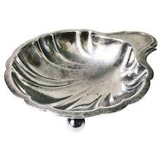 1924 Silver Plated Rock Island Line Railroad Nut Dish