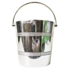 Silver Plated Ice Bucket from a P&O Oceanliner
