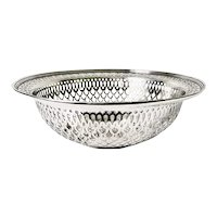 Antique Sterling Silver Tiffany & Co Fruit Bowl