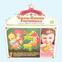 MIP Liddle Kiddles Snap Happy Patio Furniture