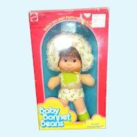 MIB Sweet Baby Bonnet Beans Doll by Mattel