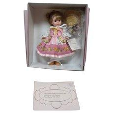 MIB Madame Alexander Blooming Rose Doll
