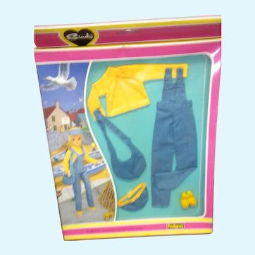 MIP Sindy Blue Jean Outfit by Pedigree