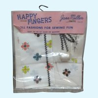 MIP Happy Fingers Doll Fashions for Sewing Fun by Jane Miller