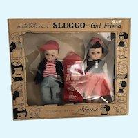 MIB Sluggo and Girl Friend Designed by Marcie