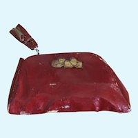 Vintage Dionne Quintuplet Red Purse