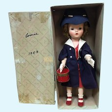 MIB MA Winnie Walker in Red Dress and Blue Coat and Hat