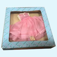 Madame Alexander Lissy Pink Organdy Dress with Original Store Tag