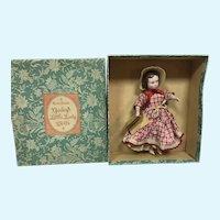 MIB Ruth Gibb Godey's Little Lady Dolls - Jo March